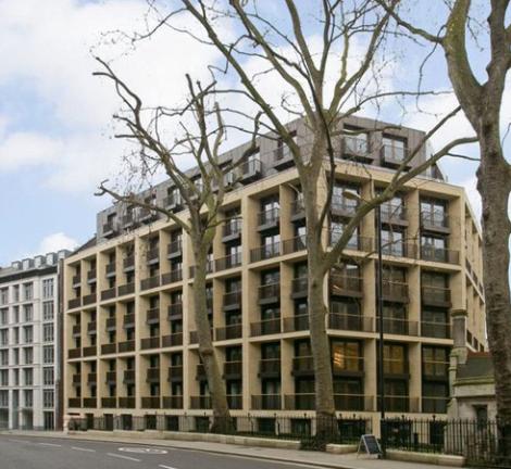 St. Dunstan's House, London.